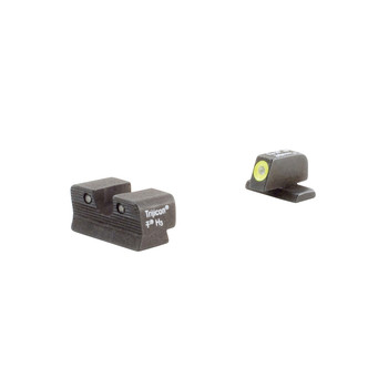 Trijicon HD Night Sights, Fits Springfield XD, Yellow Outline SP101Y, UPC :719307209688