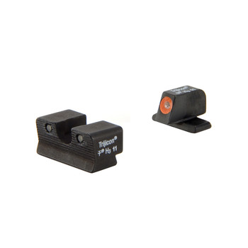 Trijicon HD Tritium Night Sight, Fits Springfield XDS, Orange Outline SP102-C-600752, UPC :719307212008