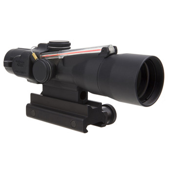 Trijicon ACOG Rifle Scope, 3X30, High Red Chevron .223 Includes Flattop Mount, Matte Finish TA33-C-400135, UPC :719307309418