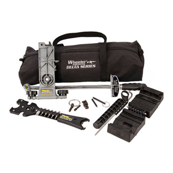 Wheeler AR Armorer's Tool Build Kit, For AR Rifles, 7 Piece Essentials Kit With Carry Bag 156111, UPC :661120561118