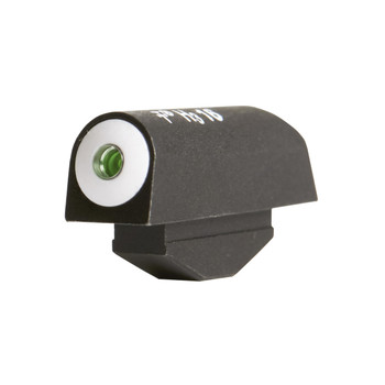 XS Sights Big Dot Tritium, Front Sight, Fits Smith  Wesson J-Frames and Ruger SP101 with pinned front sights, Green with White Outline RV-0001N-3, UPC :647533025478
