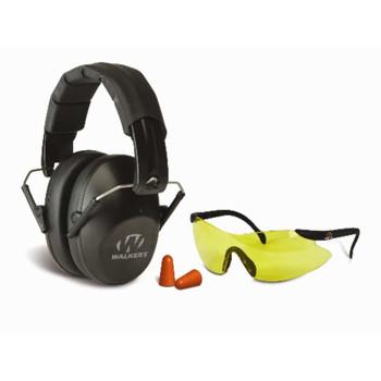 GSM Walkers Pro-Low Profile Folding Muff/Glasses/Plugs Combo, UPC :888151000328