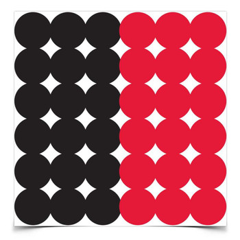 Birchwood Casey Dirty Bird 1in Adhesive Paster Target, UPC : 029057341188