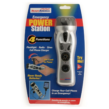 Ready America Emergency Power Station 4-Function, UPC :753962708018