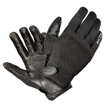 Hatch CoolTac Warm Weather Police Gloves Black Large, UPC : 050472038308