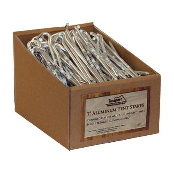 Texsport 200PC Set Tent Peg Aluminum Packed 200/Cs., UPC : 049794149588
