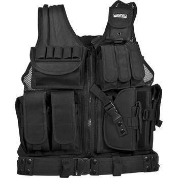 Barska Loaded Gear VX-200 Tactical Right Hand Vest - Black, UPC :790272984558