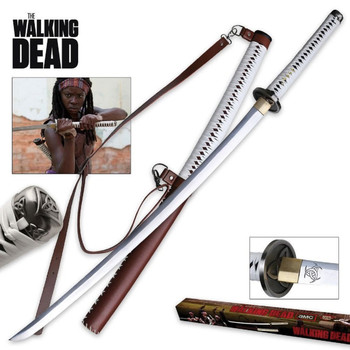 Master Cutlery The Walking Dead Movie Hand Forge Sword, UPC :805319700548
