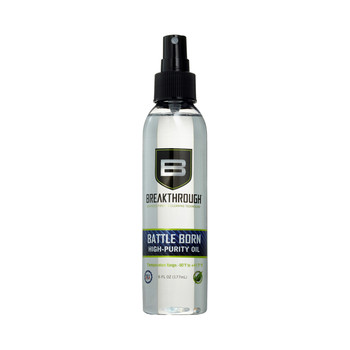 Battle Born High-Purity Oil (Lubricant  Protectant) - 6oz., UPC :852712005138