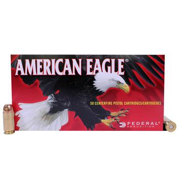 Federal American Eagle Ammunition 40 S&W 165 Grain Full Metal Jacket Box of 50, UPC : 029465092818