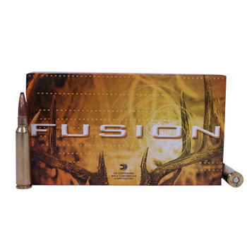 Federal Fusion Ammunition 6.5x55mm Swedish Mauser 140 Grain Spitzer Boat Tail Box of 20, UPC : 029465060688