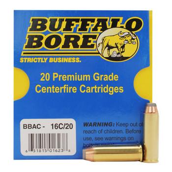 Buffalo Bore Ammunition 41 Remington Magnum 170 Grain Jacketed Hollow Point Box of 20, UPC :651815016238