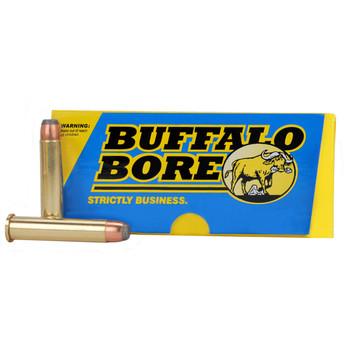 Buffalo Bore Ammunition 45-70 Government 405 Grain Jacketed Flat Nose Box of 20, UPC :651815008028