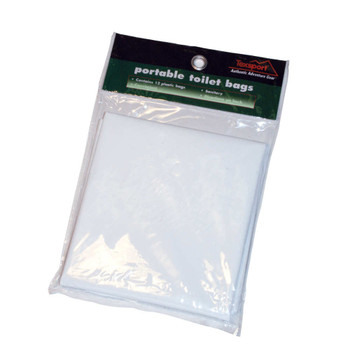 Texsport Portable Toilet Replacement Bags Polymer, UPC : 049794151208
