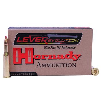 Hornady LEVERevolution Ammunition 25-35 WCF 110 Grain FTX Box of 20, UPC : 090255382778