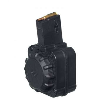 AR-15 5.56 MM 65RD DRUM BLACK POLYMER, UPC :708279014178