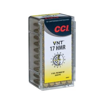 CASE OF 50 RIMFIRE 17 HMR 17GR VRM TIP A17 50RD/BX, UPC :604544621198