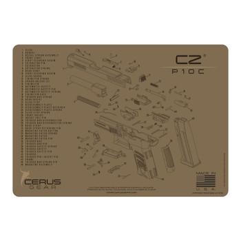 CZ P10C SCHEMATIC COYOTE, UPC :680220904458