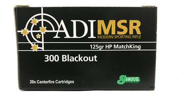 20 round box of ADI .300 Blackout Ammunition