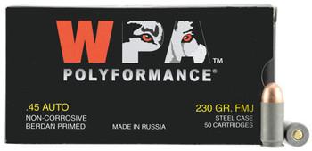 Wolf 45FMJ Handgun 45 Automatic Colt Pistol ACP 230 GR Full Metal Jacket