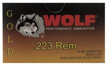 Wolf Gold 20rd Box  55gr .223REM
