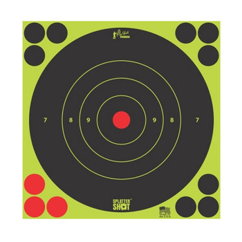 8IN GREEN BULLS EYE TARGET 6 QTY PK BG UPC: 709779901289