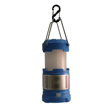Osage River LED Lantern with USB Power Bank - Blue UPC: 858419005693