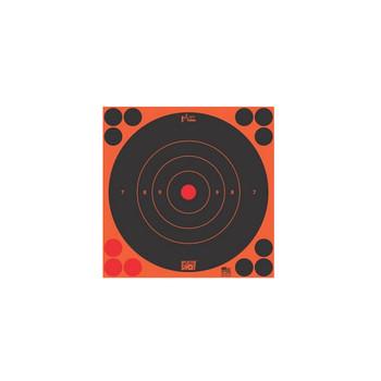 8IN ORG BULLS EYE TARGET 30 QTY PK BG UPC: 709779901265