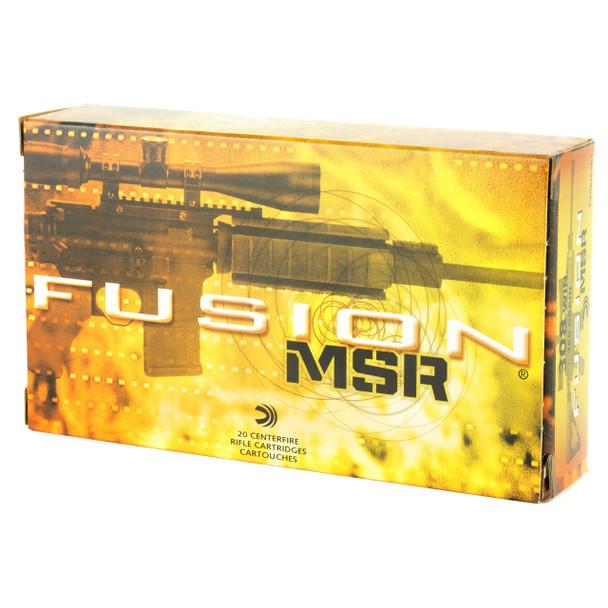 Federal Fusion, 308WIN, 150 Grain, Soft Point, 20 Round Box F308MSR1, UPC :  029465064082