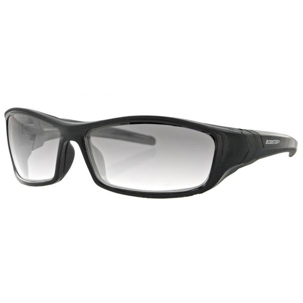 Bobster Hooligan Sunglass-Black Frame-Photochromic Lens, UPC :642608037882
