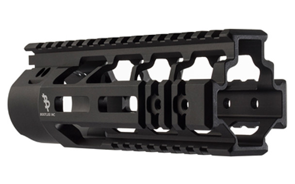 Bootleg PicLok Handguard with KMR Mounting Hardware, Extruded 6061  Aluminum, Mil Spec Hard Anodizing, Fits AR Rifles, 7