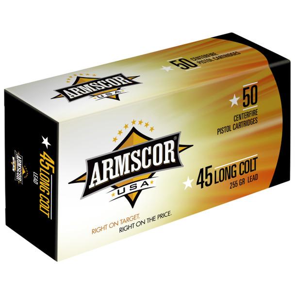 ARMSCOR 45LC 255GR LEAD 50/400 UPC: 812285021065