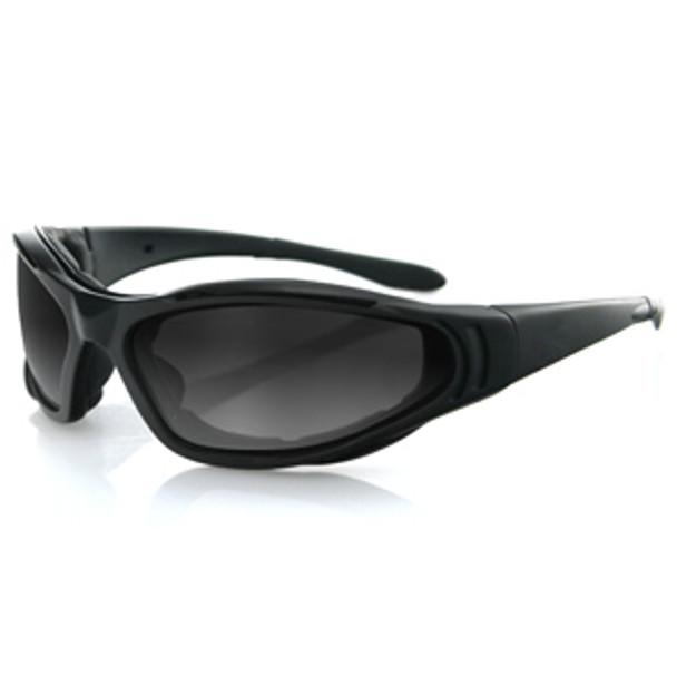 Bobster Raptor II Interchange Sunglasses Blk Frame 3 Lenses UPC: 642608028835