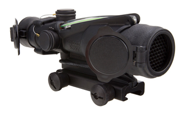 Trijicon ACOG, 4x32, Dual Illuminated Green Chevron, ARMY Rifle Combat Optic (RCO) for the M150, With TA51 Mount TA31RCO-M150CP-G, UPC :719307303423