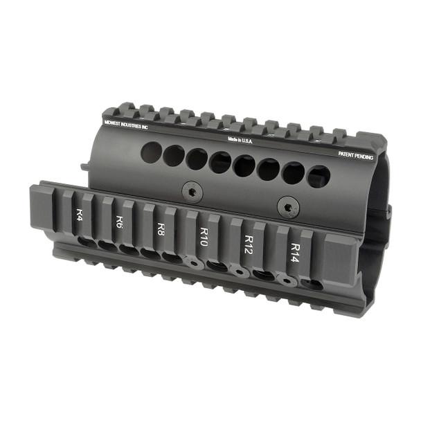 MIDWEST YUGO M70 AK RAIL BLK UPC: 816537014294