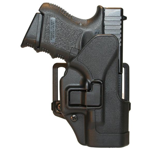 Matte Black Blackhawk Serpa Concealment Holster Glock 26 27 33 RH 410501BK-R