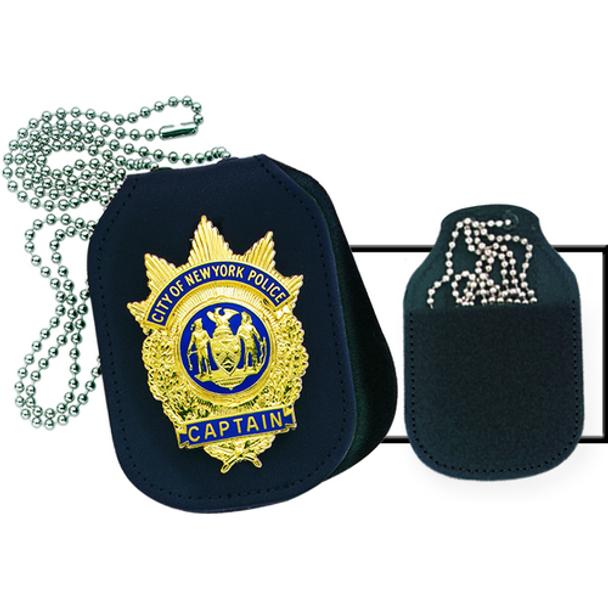 Clip-On Badge Holder - Oval - Velcro® Closure, UPC : 029682710847