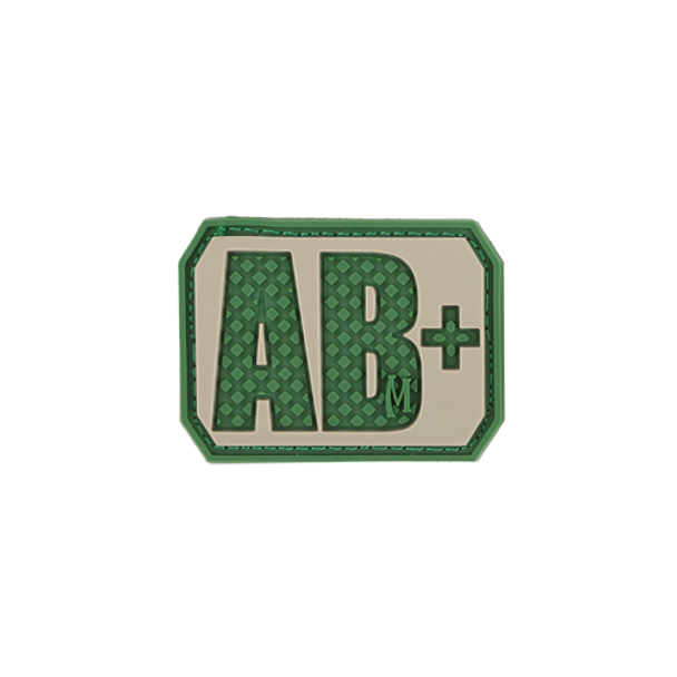 AB+ POS Blood Type Patch, UPC :846909013129