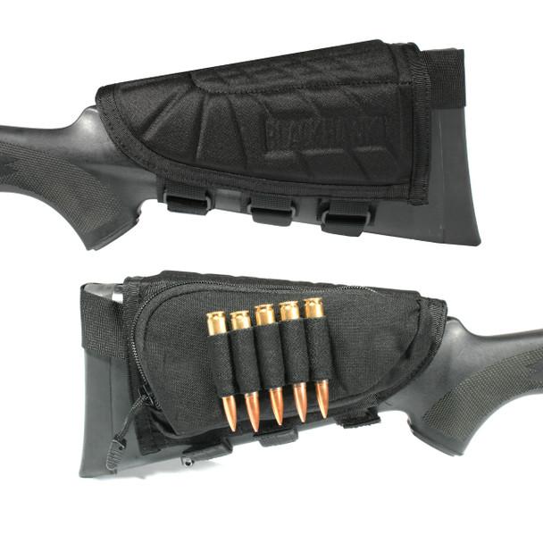 BLACKHAWK! BlackHawk, IVS Rifle Cheek Pad, Black 90CP05BK, UPC :648018035548