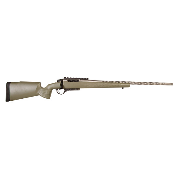 "Seekins Precision HAVAK, Bolt Action Rifle, 308 Win, 24"" 5R Stainless Match Grade Fluted Barrel, Diamond-like Carbon Finish, Seekins Carbon Fiber Stock, 4Rd, Remington 700 Short Action Platform, Timney Trigger, 20MOA Picatinny Rail, Detachable Magazi"