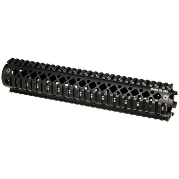 Blackhawk AR15 RFL Lngth 2 PC QD Rail BLK UPC: 648018150258