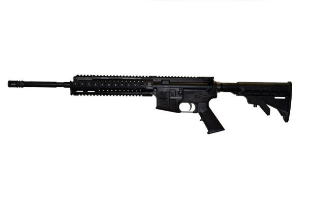 ADAMS ARMS 5.56MM M4 STYLE RIFLE GAS-PISTON RIFLE WITH QUAD RAIL COLLAPSABLE STOCK 1 MAG AND SOFT CASE
