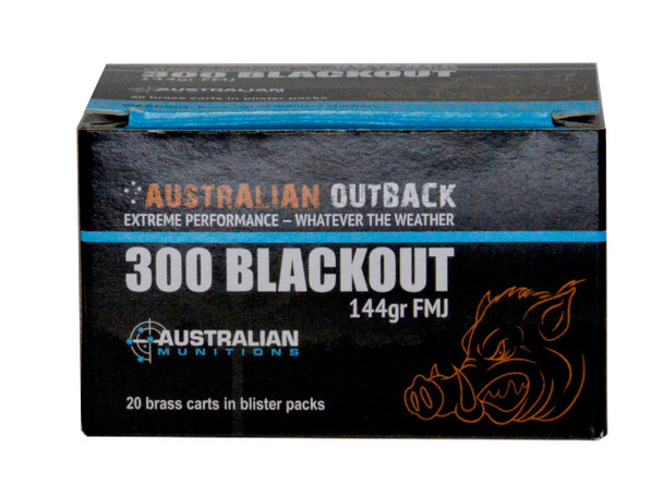 .300 Blackout Ammo 20 round box