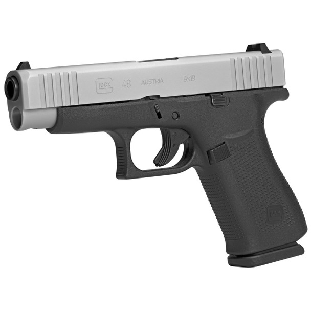 Glock 48 9mm semi auto pistol in stock and available from GlobalOrdnance.com