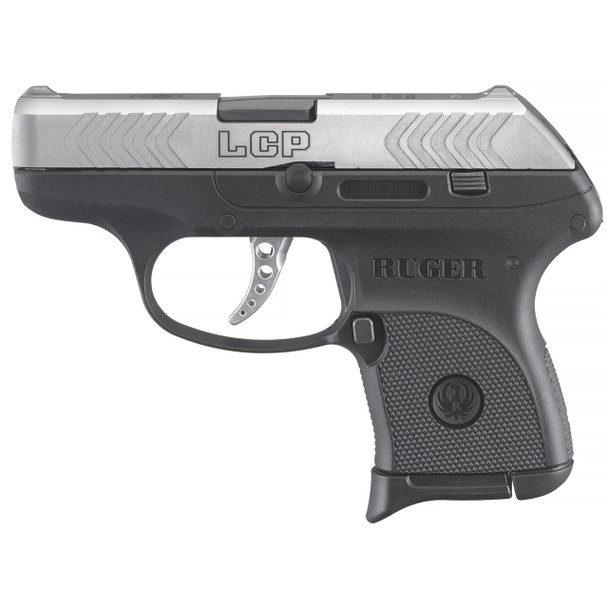"""Ruger, LCP, 10TH Anniversary Limited Edition, Semi-automatic, 380ACP, 2.75"""" Barrel, Nylon Frame, Stainless Finish, Forward Cocking Serrations, Integral Sights, 6Rd, 1 Magazine"""