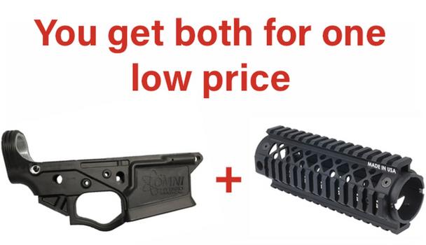 Black ATI OMNI AR Lower Receiver Blackhawk Carbine Length Rail Deal