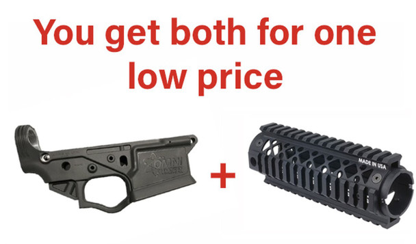 Gray ATI OMNI AR Lower Receiver Blackhawk Carbine Length Rail Deal