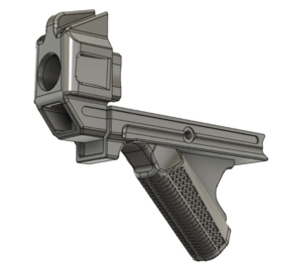 Dragon Snout w/ Stippled Angled Foregrip UPC: DS-AFG-STIPPLE