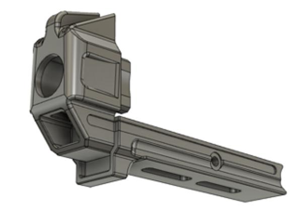 Dragon Snout Rail Cover w/ Two M-LOK Slots UPC: DS-RC-MLOK