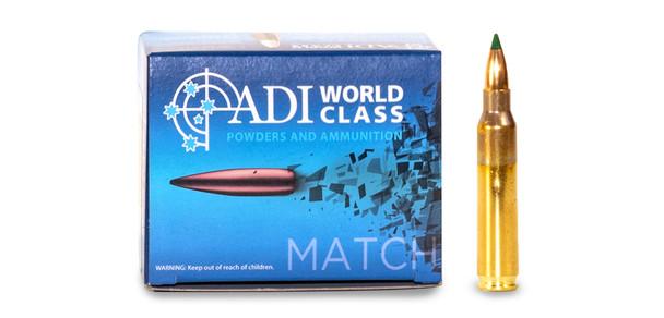 ADI World Class .223 REM 55 Grain Sierra Blitzking 20 Round Box UPC: 9332153003166